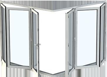 Custom Made Bi-folding Aluminum Doors From Origin