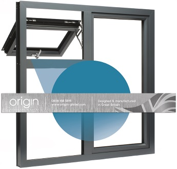 The location of Origin's window guarantee on the windows themselves